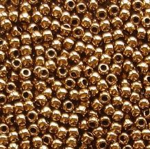 Toho 11/0 Seed Beads, Bronze 221 - 10 grams